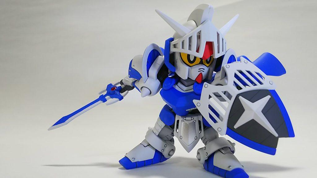 騎士ガンダム(ICE WHITE COLOR) アピールショット3