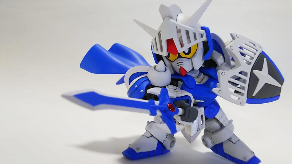 騎士ガンダム(ICE WHITE COLOR) アピールショット2