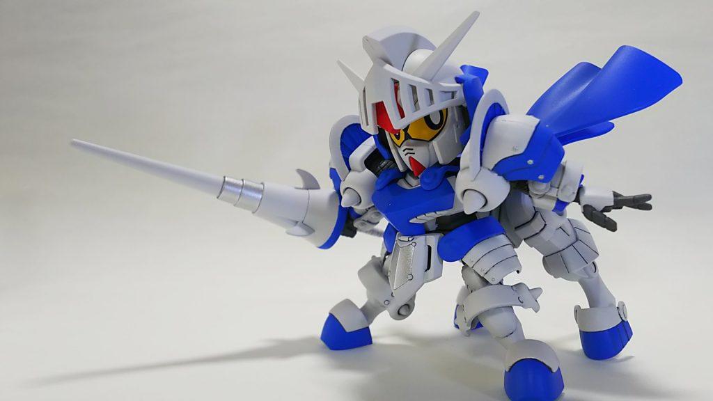 騎士ガンダム(ICE WHITE COLOR)
