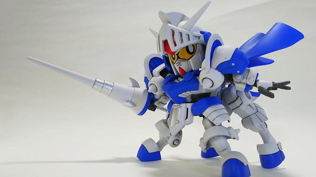 騎士ガンダム(ICE WHITE COLOR) アピールショット4
