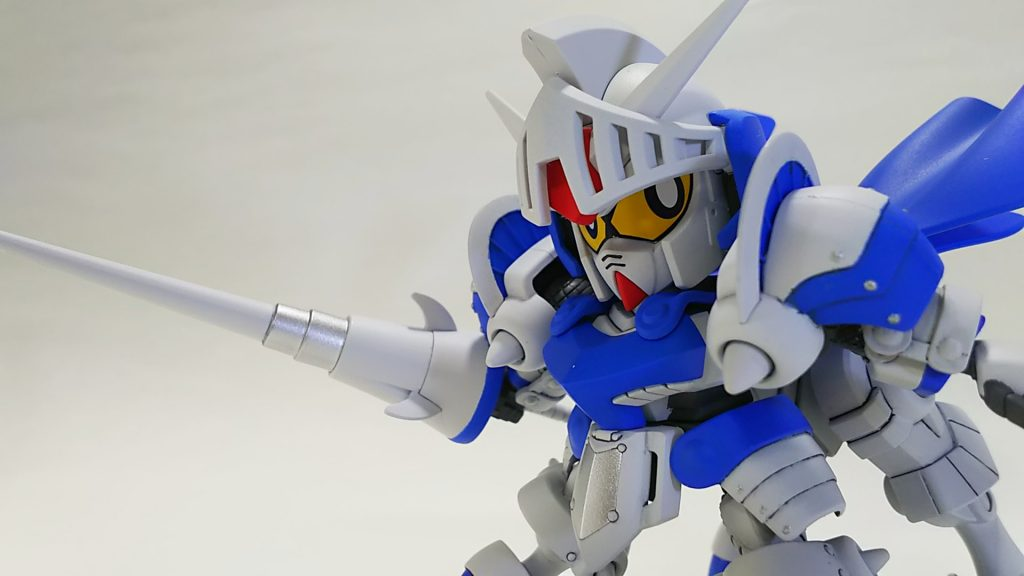騎士ガンダム(ICE WHITE COLOR) アピールショット5