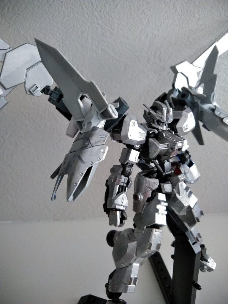 銀竜志士アスタロト・焔 制作工程2