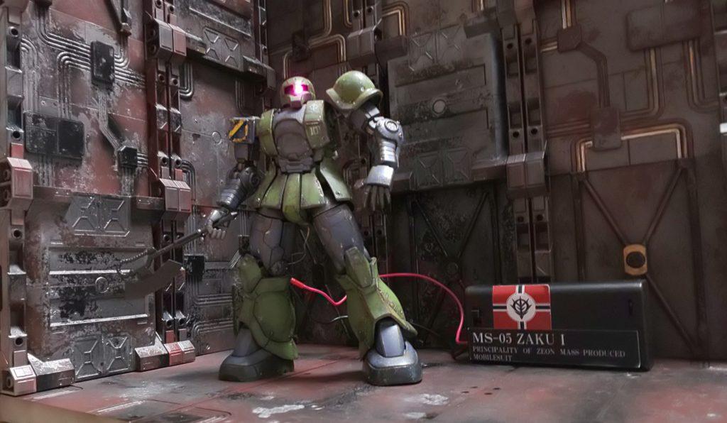 往年の勇者!ザクⅠ  (旧ザク) アピールショット1