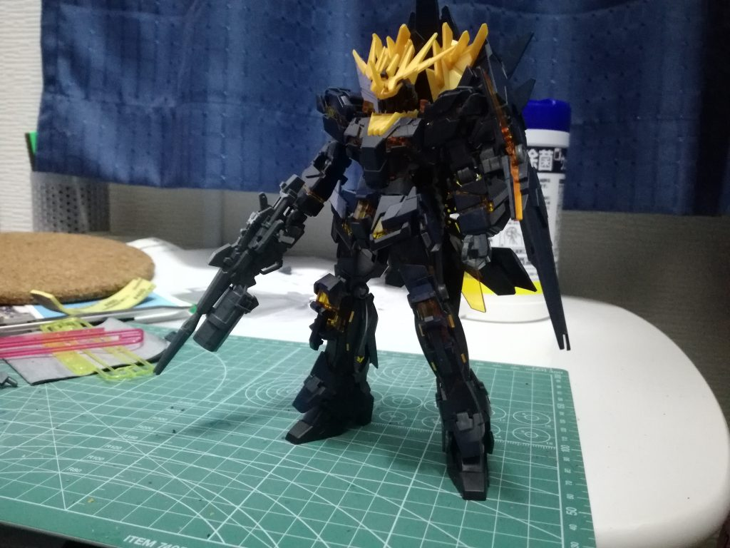 RX-0[N] UNICORN GUNDAM 02 BANSHEE NORN アピールショット1