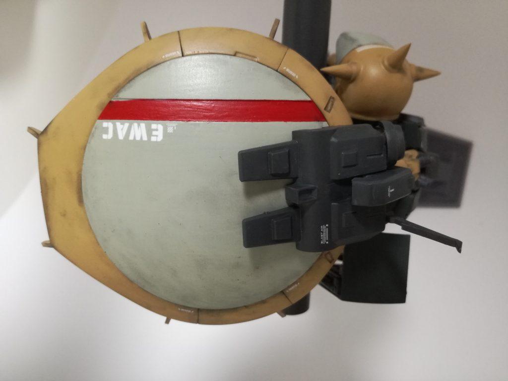 ハイザック(EWACユニットカスタム) 制作工程3