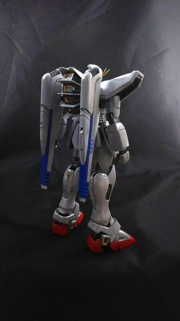 メタルビルド風F91 アピールショット2