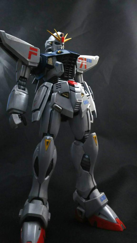 メタルビルド風F91 アピールショット3