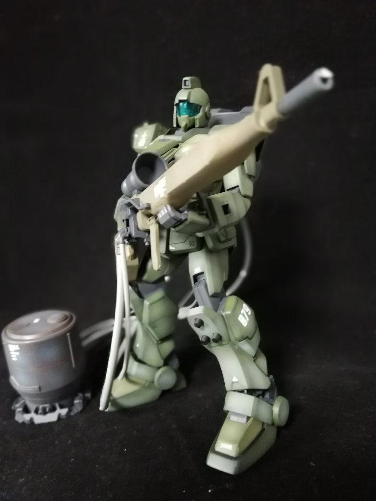MG ジムスナイパー 08小隊版  アピールショット1
