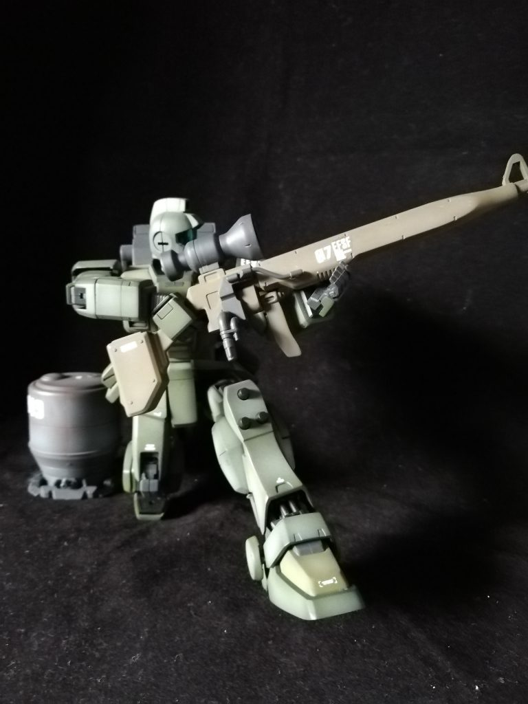 MG ジムスナイパー 08小隊版  アピールショット2