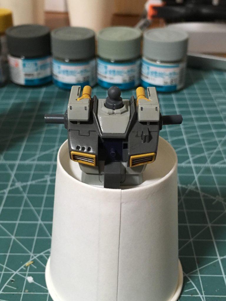 ガンダムTR-1ヘイズル改 制作工程1