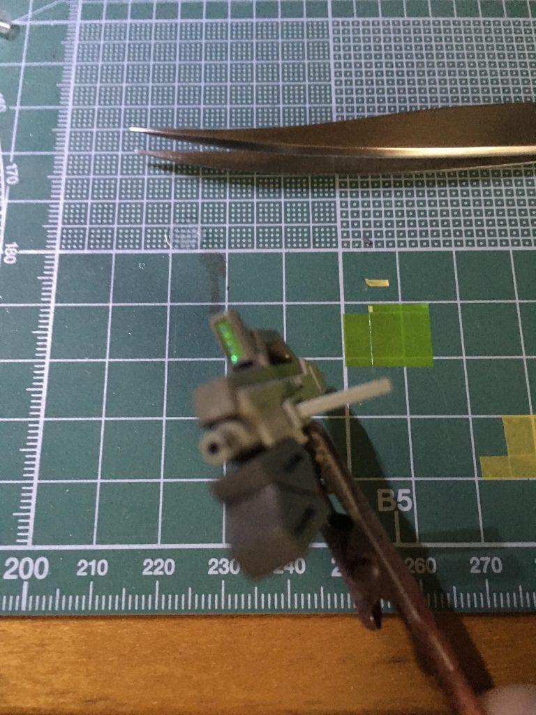 ガンダムTR-1ヘイズル改 制作工程3