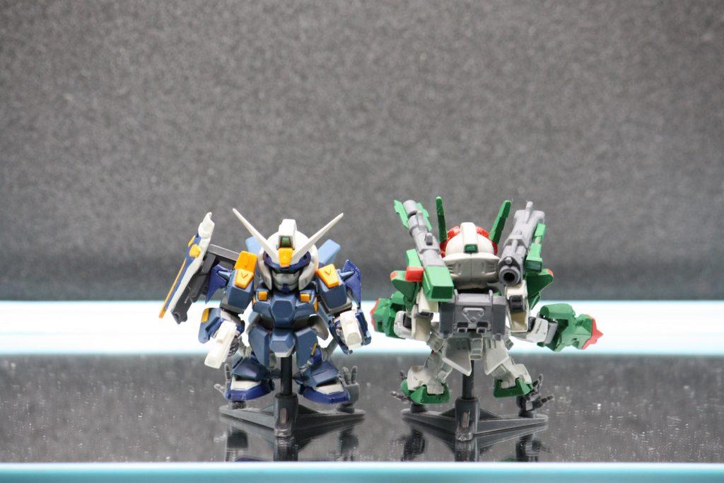 GAT-X1022「ブルデュエル」&GAT-X103AP「ヴェルデバスター」 アピールショット1