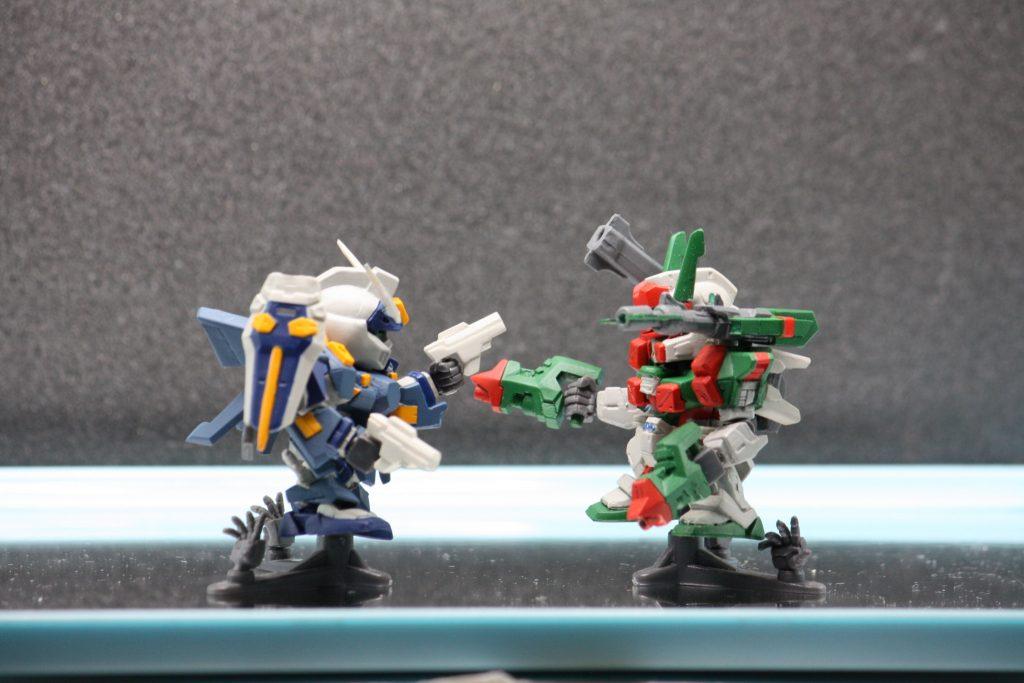 GAT-X1022「ブルデュエル」&GAT-X103AP「ヴェルデバスター」 アピールショット3