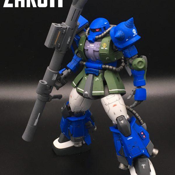 HG  アナベル・ガトー専用 高機動型ザクⅡ
