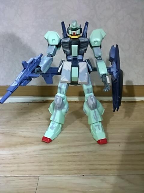 RGM-90 ジェダ改良型(制式採用機) 【1/144旧キット・HGUC改造】  制作工程1