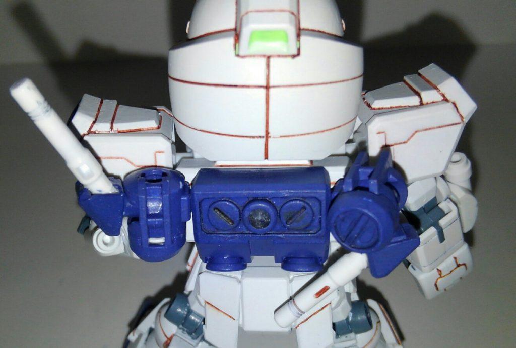 G-3ガンダムユニコーンアーマー 制作工程4