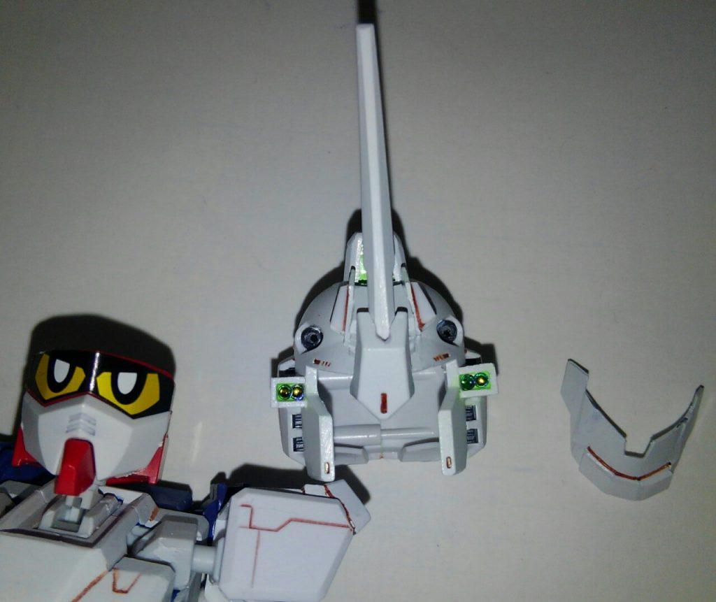 G-3ガンダムユニコーンアーマー 制作工程7
