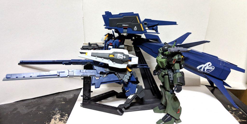 HG ガンダムTR-1[ヘイズル・ラー]第2形態 ブースター装備 アピールショット4