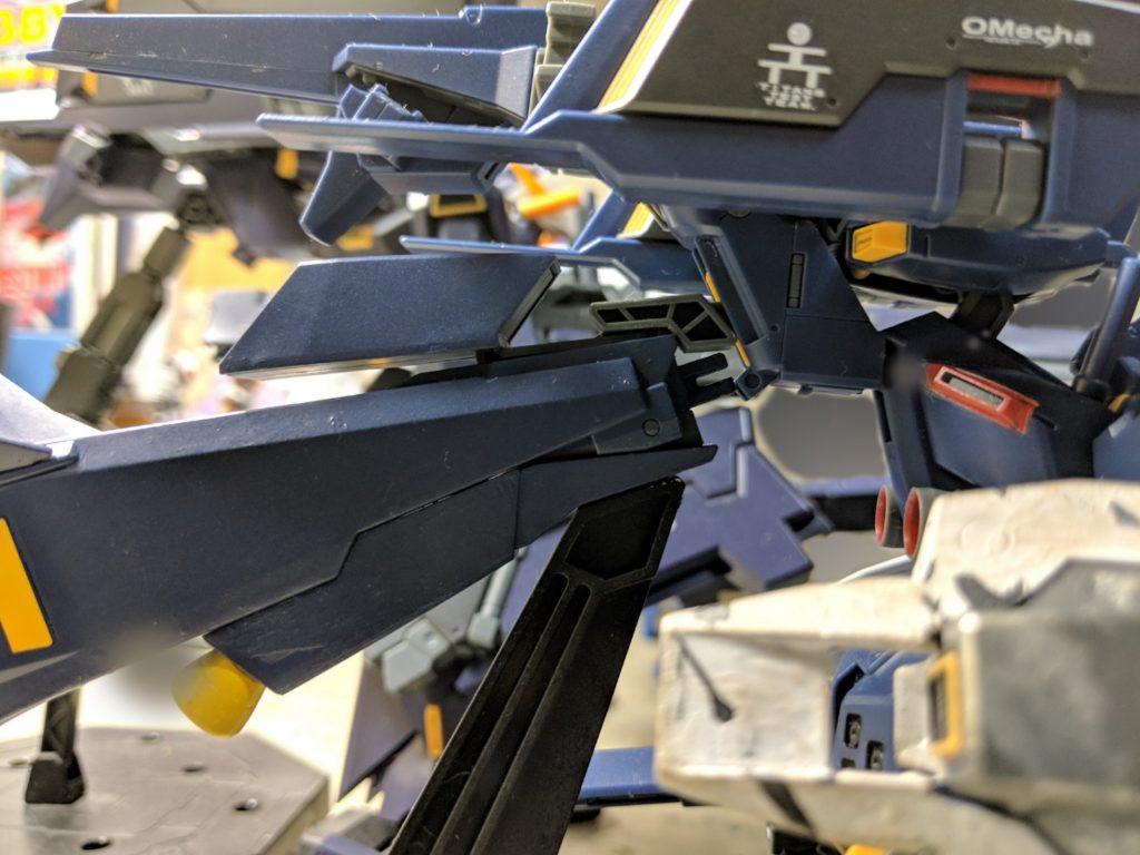 HG ガンダムTR-1[ヘイズル・ラー]第2形態 ブースター装備 アピールショット5