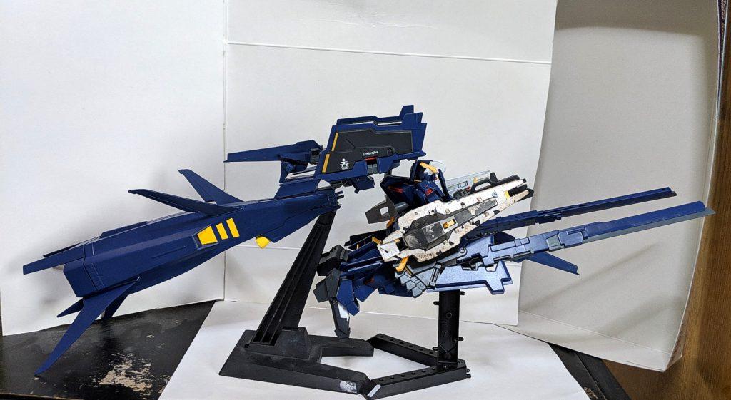 HG ガンダムTR-1[ヘイズル・ラー]第2形態 ブースター装備 アピールショット1