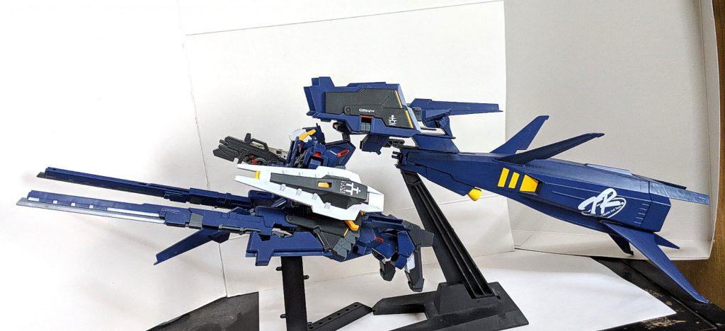 HG ガンダムTR-1[ヘイズル・ラー]第2形態 ブースター装備 アピールショット2