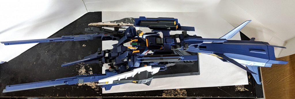 HG ガンダムTR-1[ヘイズル・ラー]第2形態 ブースター装備 アピールショット3