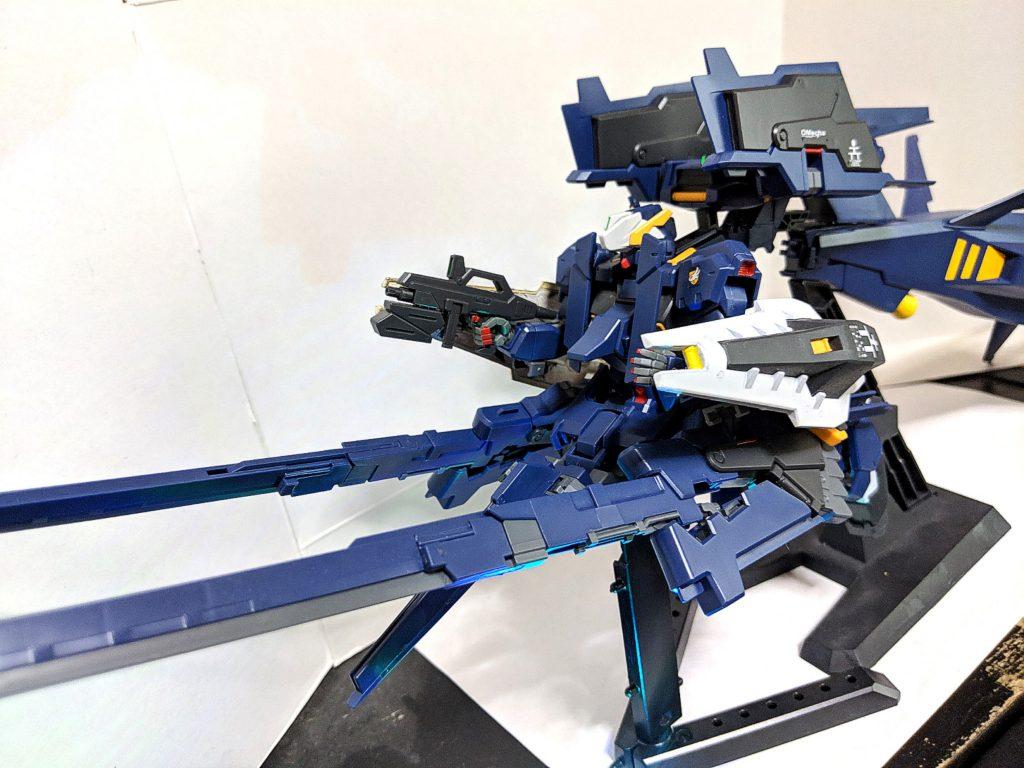 HG ガンダムTR-1[ヘイズル・ラー]第2形態 ブースター装備 アピールショット7