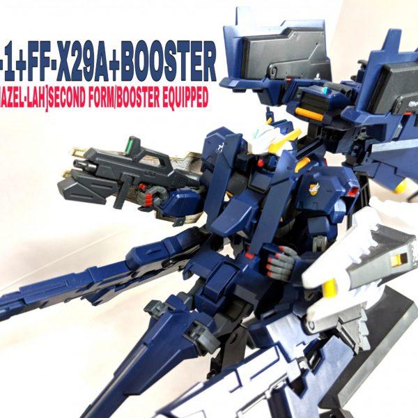 HG ガンダムTR-1[ヘイズル・ラー]第2形態 ブースター装備