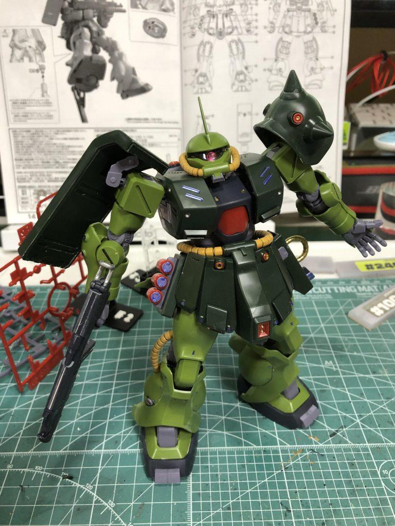 RE/100 ザクII改 アピールショット1