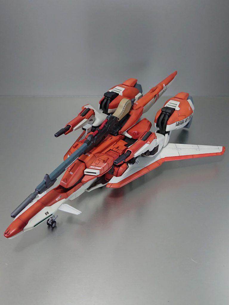 MSZ-006A1 WAVE RIDER (形態) アピールショット2