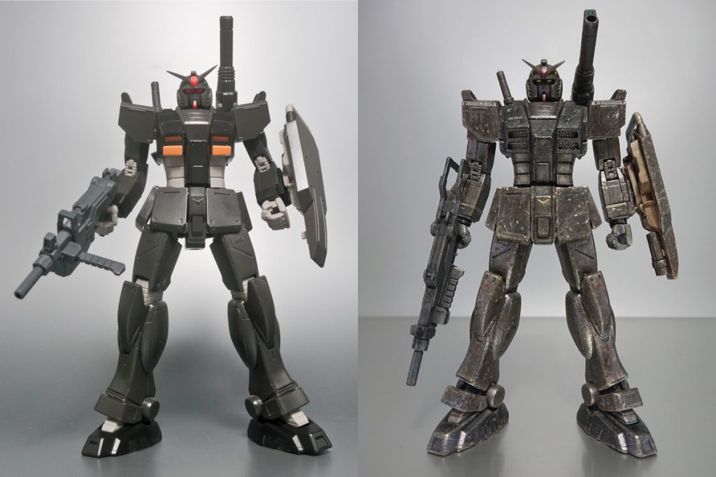 RX-78-01[N] 局地型ガンダム 北米戦仕(改) 制作工程7