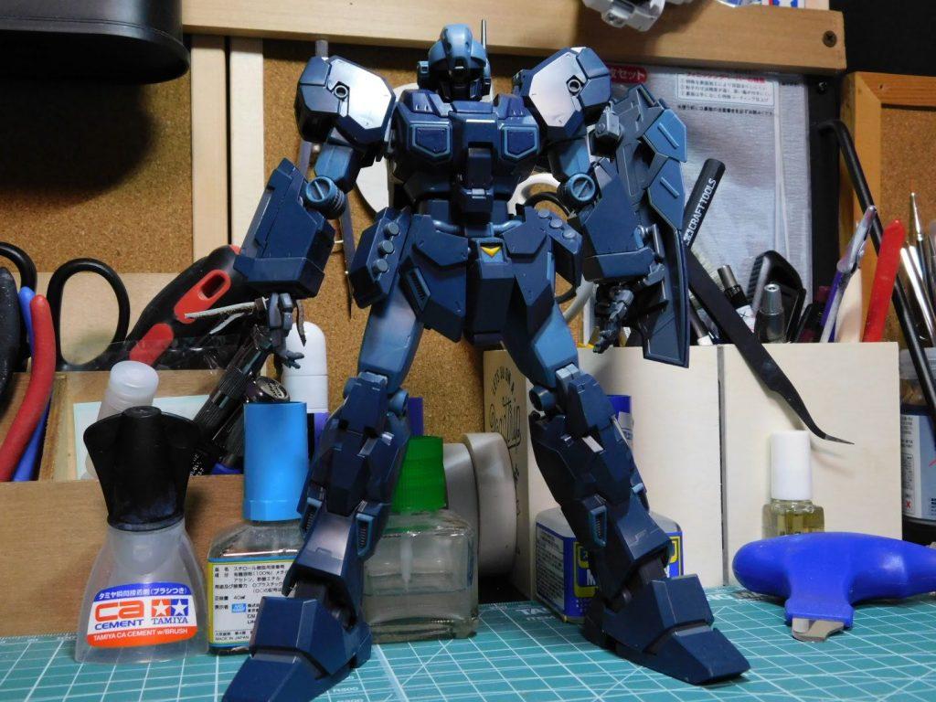 MG 1/100 RGM-96X ジェスタ 制作工程1