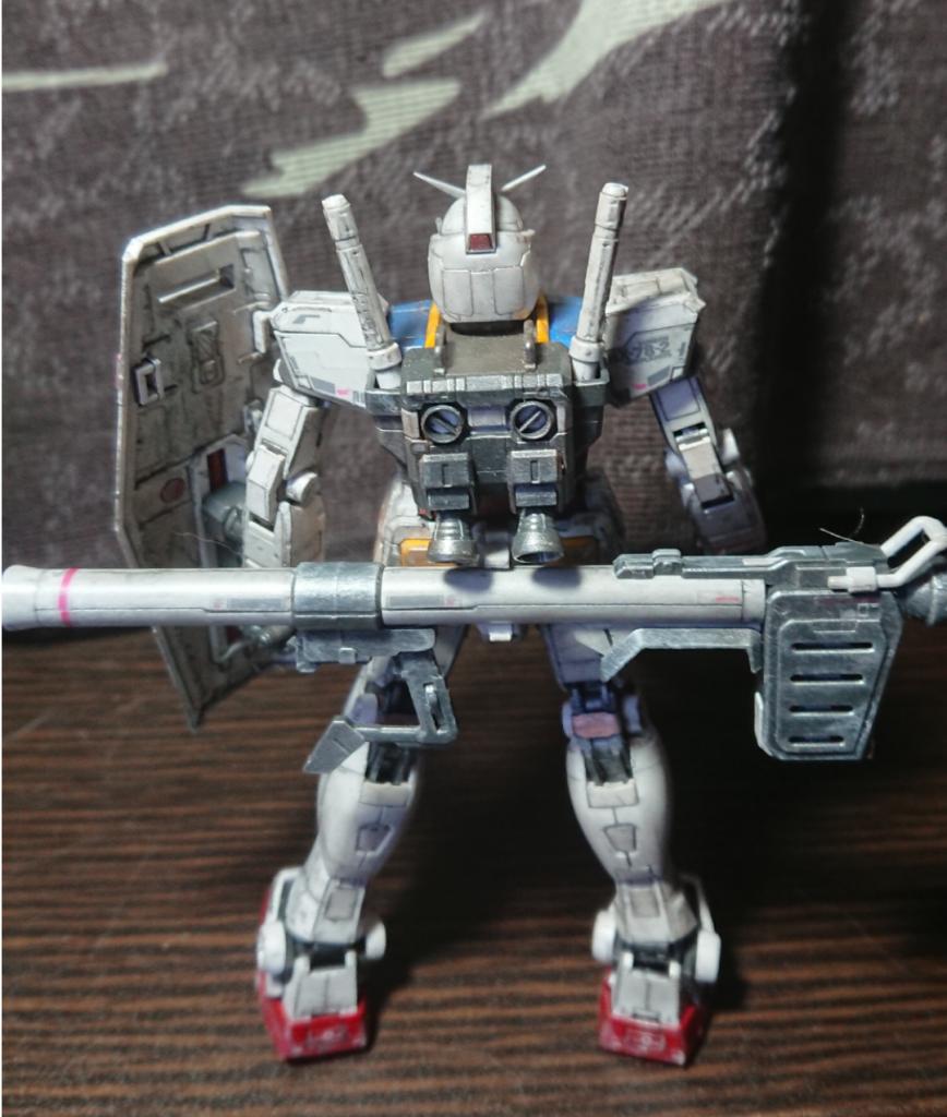 RG 1/144 RX-78-2ガンダム アピールショット4