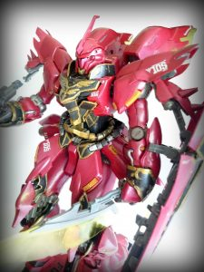 1/100 MG MSN-06S Sinanju Version Ka