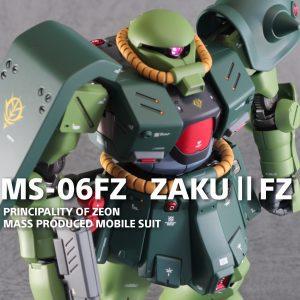 RE1/100 MS-06FZ ザクⅡ改