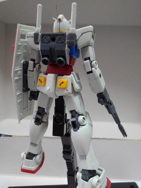 RX78-2ガンダム を自分好みに改造してみた アピールショット1