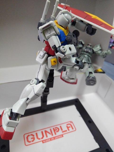 RX78-2ガンダム を自分好みに改造してみた アピールショット2