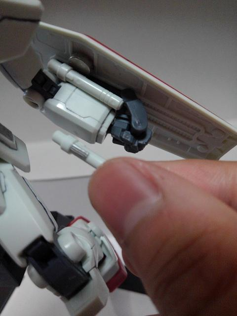 RX78-2ガンダム を自分好みに改造してみた アピールショット4