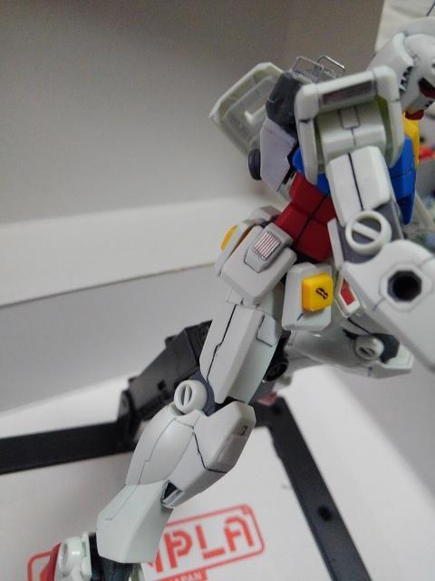 RX78-2ガンダム を自分好みに改造してみた 制作工程1
