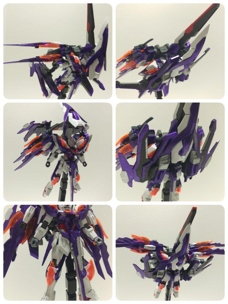 ウイングガンダムゼロ-紫炎- アピールショット7