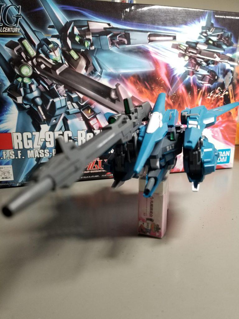 """RGZ-95C Rezel""""commander type"""" アピールショット4"""