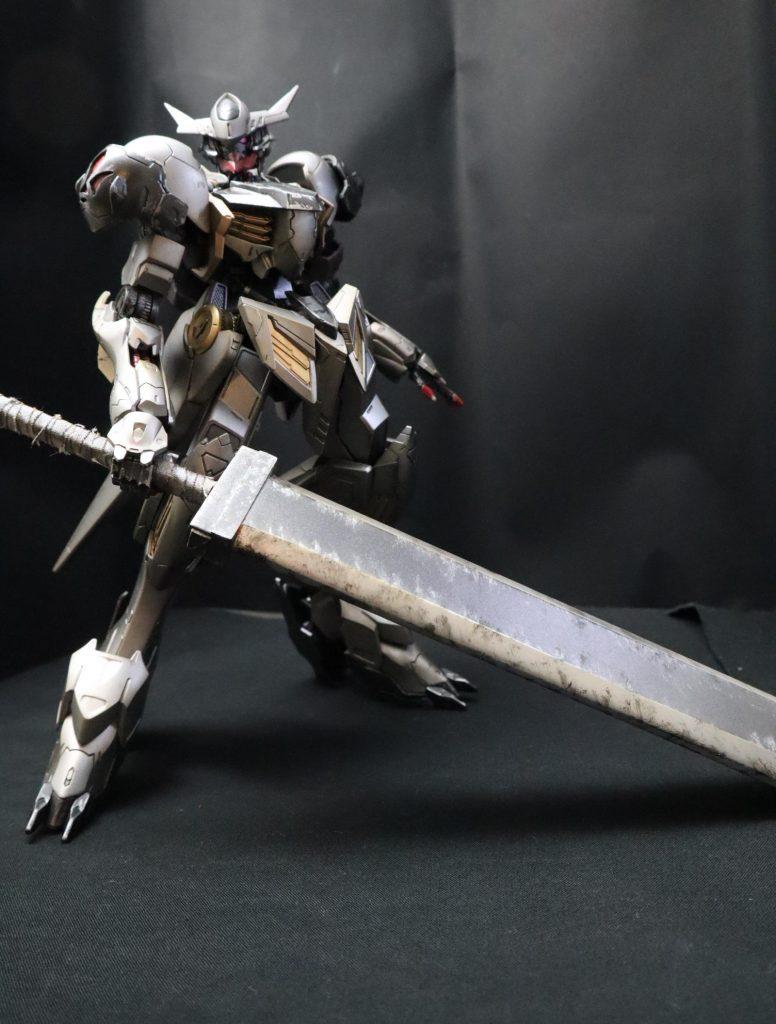 黒鉄の剣士 バルバトスルプス 制作工程1