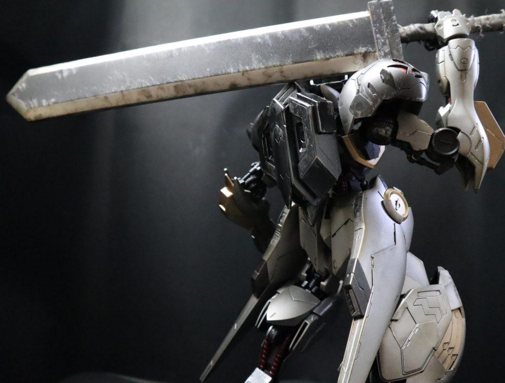 黒鉄の剣士 バルバトスルプス アピールショット3