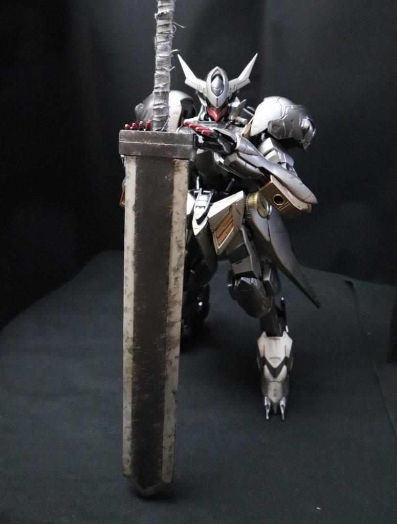 黒鉄の剣士 バルバトスルプス アピールショット2