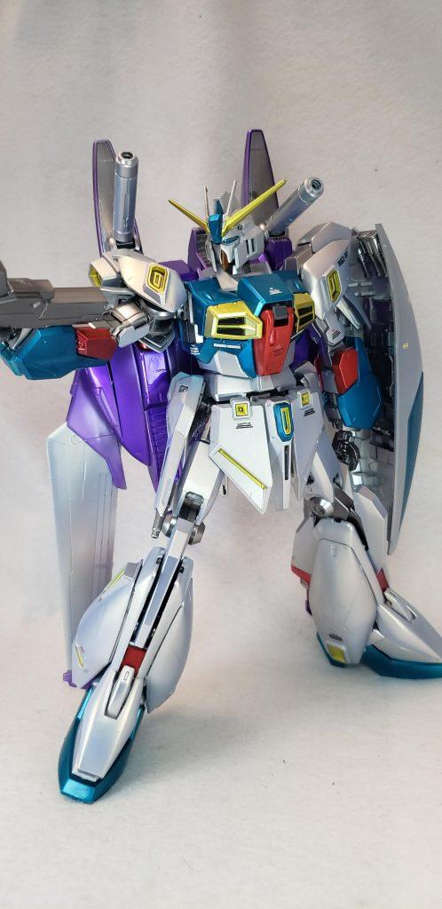 MG リ・ガズィ カスタム(Re-Gz custom) 制作工程3