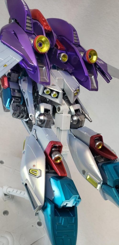 MG リ・ガズィ カスタム(Re-Gz custom) 制作工程4