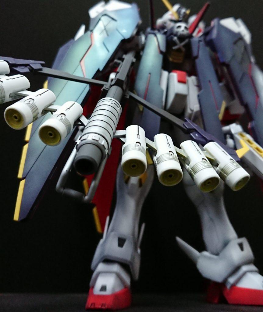 MG クロスボーンガンダム X-1 フルクロス アピールショット4
