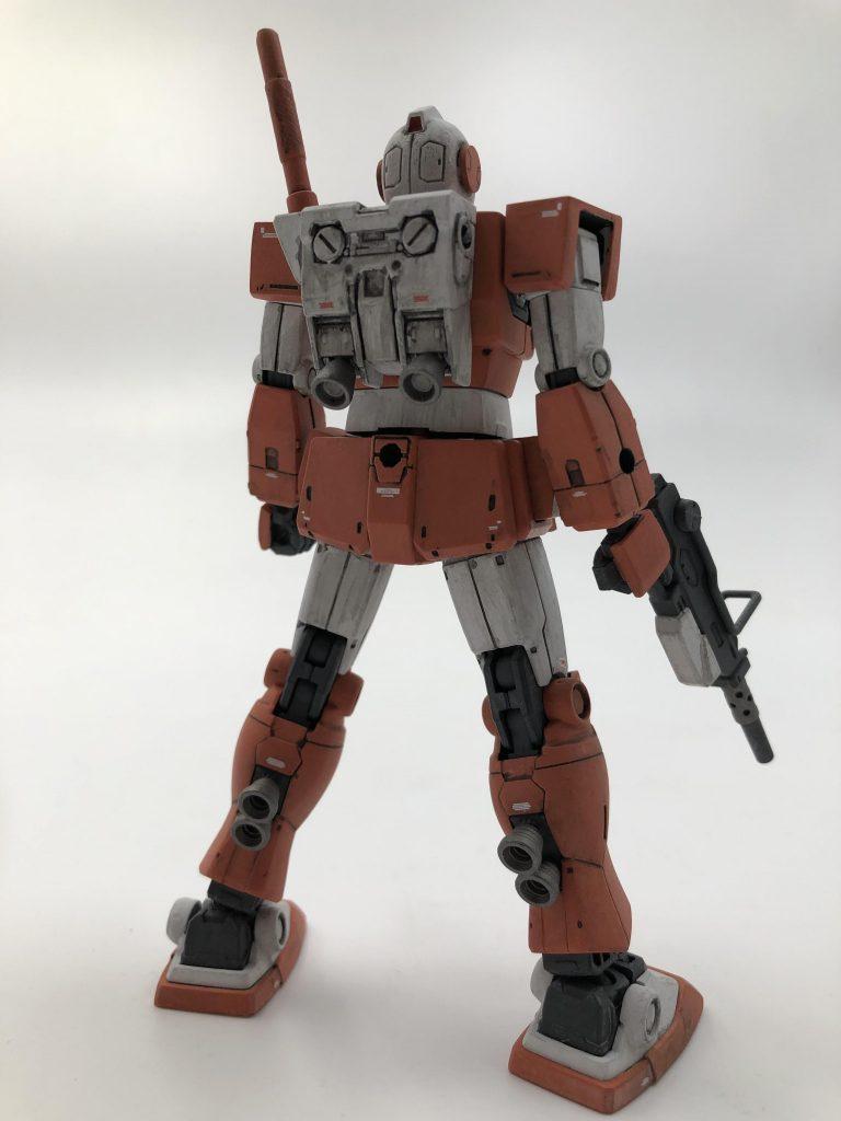 RGM-79L ジム・ライトアーマー アピールショット1