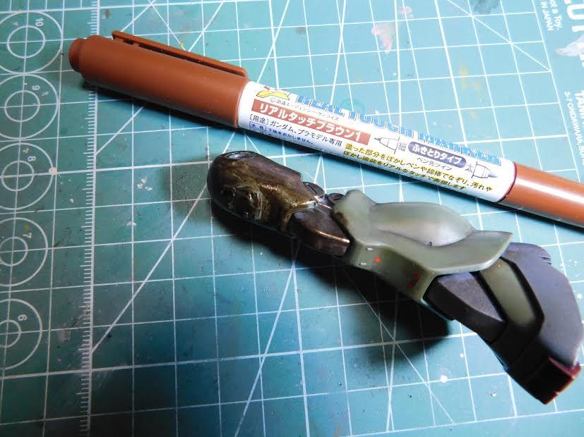 0080 ポケ戦 ザクⅡ FZ  バーニーザクロールアウトから最後闘いまで(T_T) 制作工程1