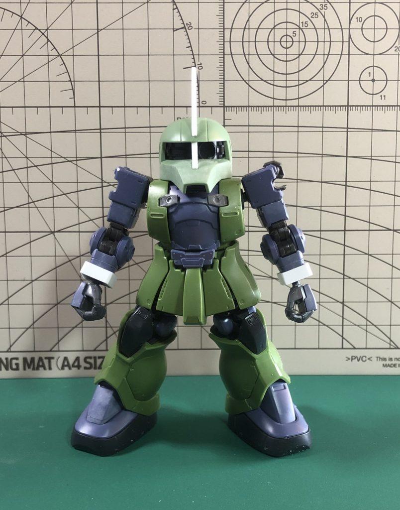 SD ランバ・ラル専用ザクⅠ 制作工程3